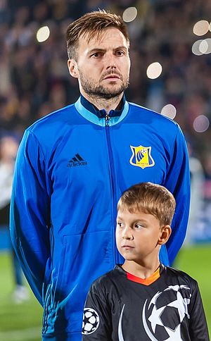 Vladimir Granat - Granat at FC Rostov in 2016