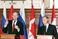 Vladimir Putin in Canada 18-19 December 2000-5.jpg