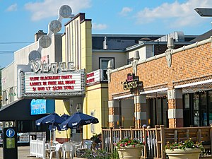 Broad Ripple Village, Indianapolis - Image: Vogue Theater, Broad Ripple, Indianapolis, Indiana