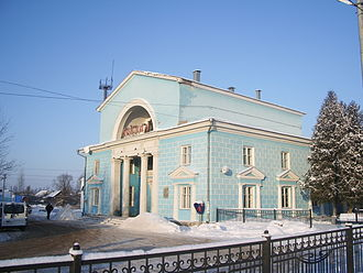 Staraya Russa - Staraya Russa railway station building