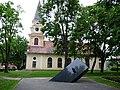 Voru Estonia mälestusmärk Katariina kirik.JPG