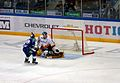 Vrana scores on Koshechkin 2011-10-16 Amur—Severstal KHL-game.jpeg