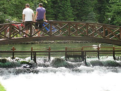How to get to Vrelo Bosne with public transit - About the place