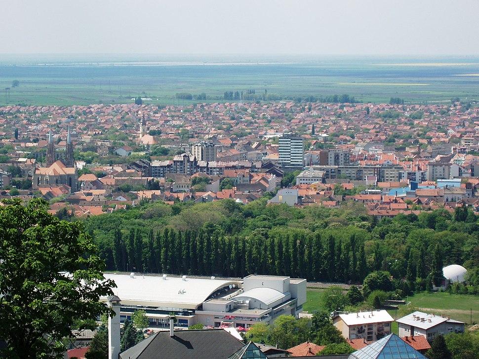 Vrsac-Panorama view