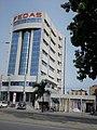 Vue de profil du Siège de la FEDAS SA (FEDERATION D'ASSURANCES) à Cotonou Bénin.jpg