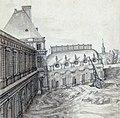 Vue du chantier du Luxembourg du côté de la basse-cour en 1634, dessin, Étienne Martellange - Gallica 2011 (detail).jpg