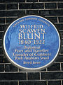 WILFRID SCAWEN BLUNT 1840-1922 Diplomat Poet and Traveller Founder of Crabbet Park Arabian Stud lived here.jpg
