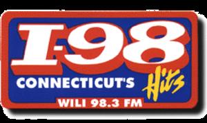 WILI-FM - Former logo of the radio station used until April 2003