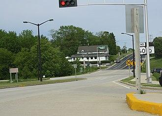 Wisconsin Highway 60 - Eastern terminus