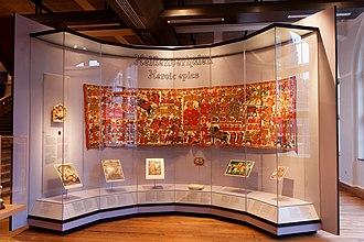 Pabuji - A panoramic view of the Pabhuji Ki Phad displayed in the Tropenmuseum, Amsterdam, Netherlands