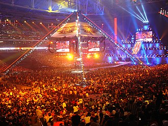 WrestleMania XXVI - An attendance record setting 72,219 fans at the University of Phoenix Stadium for WrestleMania XXVI