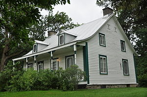 Pointe-aux-Prairies Nature Park - Maison Bleau in September 2011.