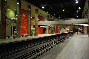 Rosemont station (Montreal Metro) - Image: WTMTL T13 DSC 0020