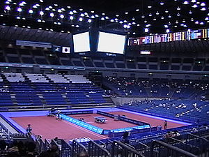 2009 World Table Tennis Championships - WTTC Center courts