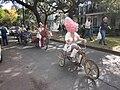 WWOZ 30th Birthday Parade Esplanade Avenue Art Bikes 1.JPG
