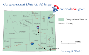 United States House of Representatives election in Wyoming, 2010 - Image: WY Atlarge