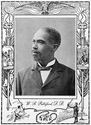 William R. Pettiford - W R Pettiford in 1902