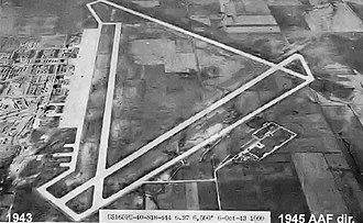 Walker Army Airfield (Kansas) - Aerial Photo of Walker AAF 6 October 1943