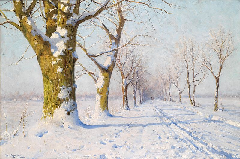 File:Walter Moras - Ein sonniger Wintertag.jpg