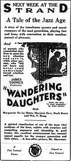 <i>Wandering Daughters</i> 1923 film