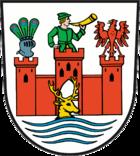 Das Wappen von Angermünde
