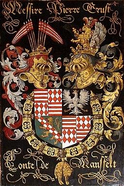 Wappen Peter Ernst von Mansfeld