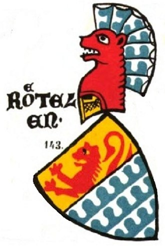 Rötteln Castle - Coat of arms of the lords of Rötteln