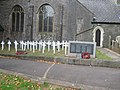 War memorials in Torre churchyard - geograph.org.uk - 1510466.jpg
