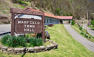 Warfield, Kentucky City in Kentucky, United States
