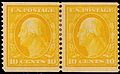 Washington coil stamps 10c 1909 issue.jpg