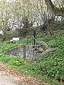 Water pump at Mary's Well Illogan - geograph.org.uk - 1010486.jpg