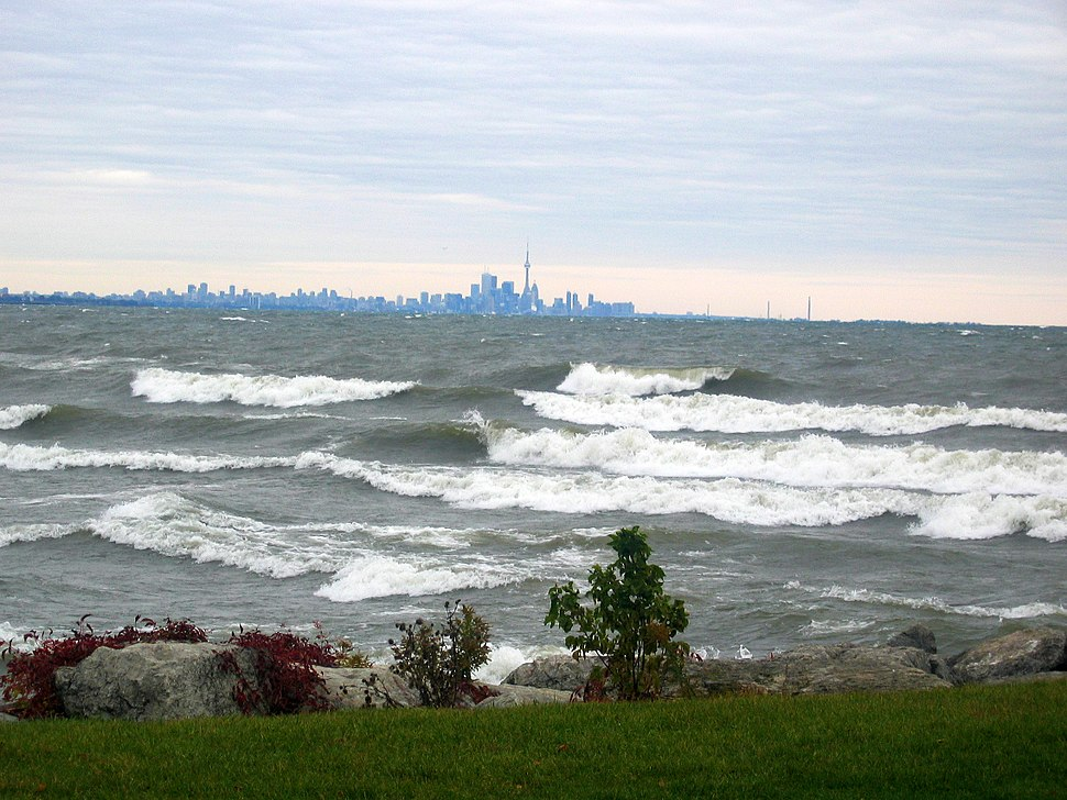Wave in Lake Ontario