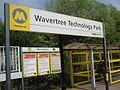 Wavertree Technology Park railway station sign (1).jpg