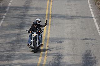 Motorcycling greetings