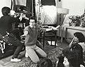 "Wayne Wang directs the ""pleasure party"" scene from ""Dim Sum- A Little Bit of Heart"".jpg"