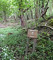 Welcome sign in Little Doward woods - geograph.org.uk - 797628.jpg