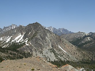 Wenatchee Mountains - Image: Wenatchee Mountains