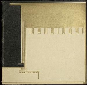 Wendingen - Wendingen 1928-1, 2nd of 4 W.M.Dudok issues (cover H.Wouda)