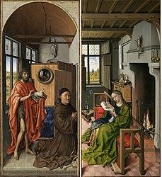 โรเบิร์ต กัมปิน: The Werl Triptych