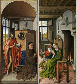 painting by Robert Campin