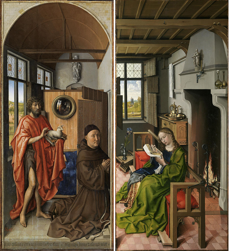 Robert Campin's _The Werl Triptych_