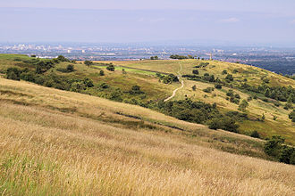 Greater Manchester County Council - Image: Werneth Low
