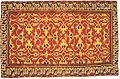 Western Anatolian knotted woll carpet with 'Lotto' patern, 16th century, Saint Louis Art Museum.jpg