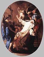 Wga Pompeo Batoni Ecstasy of St Catherine of Siena