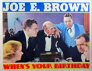 When's Your Birthday? - lobby card