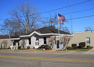 Wiggins, Mississippi - Wiggins City Hall January 2013