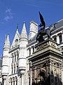 Wikimania 2014 - 0803 - Fleet Street - Royal Court of Justice220394.jpg