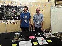 Wikimania 2018, CEE table, 01.jpg