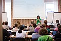 Wikimedia Hackathon Vienna 2017-05-19 Humanities, social sciences and wikis 005.jpg