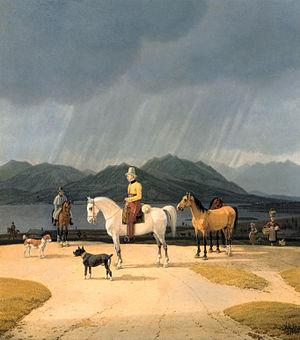 Wilhelm von Kobell - Image: Wilhelm von Kobell Reiter am Tegernsee Google Art Project